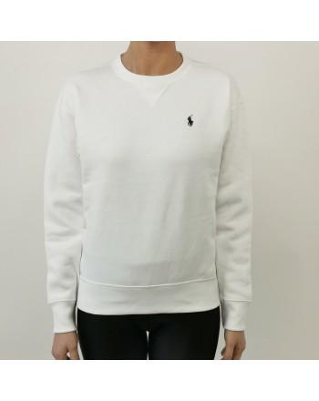 POLO RALPH LAUREN -  Maglia in cotone con logo - Bianco