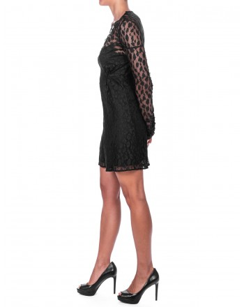 PINKO - IPPOLITO Lace Suit - Black