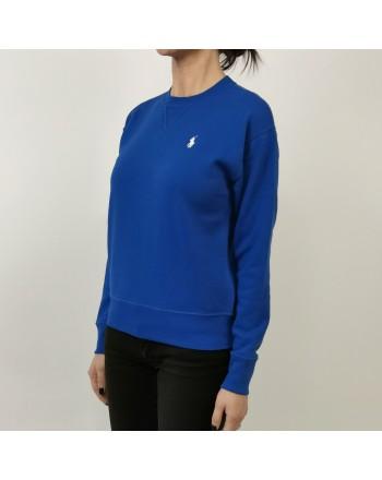 POLO RALPH LAUREN - Maglia in Cotone con Logo - Heritage Blue