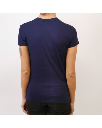 POLO RALPH LAUREN - T-Shirt in Cotone Classic - Navy