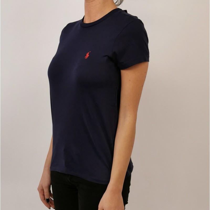 POLO RALPH LAUREN - Classic Cotton T-Shirt - Navy