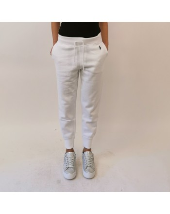 POLO RALPH LAUREN -  Jogging pants white