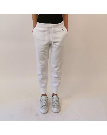 POLO RALPH LAUREN -  Pantalone jogging bianco