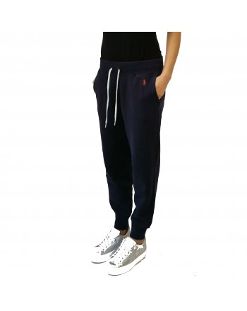POLO RALPH LAUREN -  Jogging pants blue navy