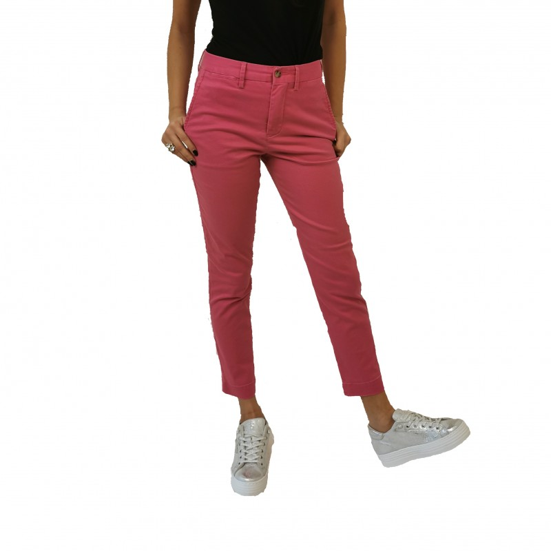 POLO RALPH LAUREN - Pantalone chino stretch - Fucsia