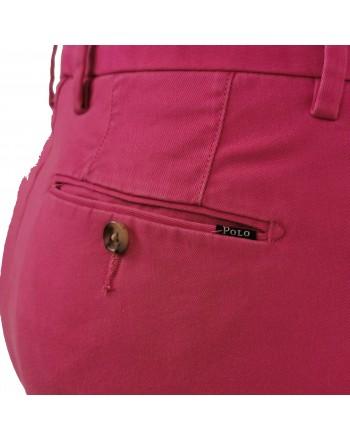 POLO RALPH LAUREN - Pantalone chino stretch - Fucsia