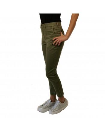 POLO RALPH LAUREN - Stretch chono trouser - Spanish Green