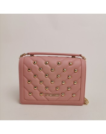 LOVE MOSCHINO -  Shoulder bag - Powder color