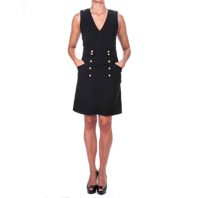 PINKO - ERPICE Dress in Viscose  - Black