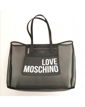 LOVE MOSCHINO - Mesh bag - Black