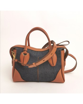 TOD'S - Duffle small hadbag - Brick Galassy
