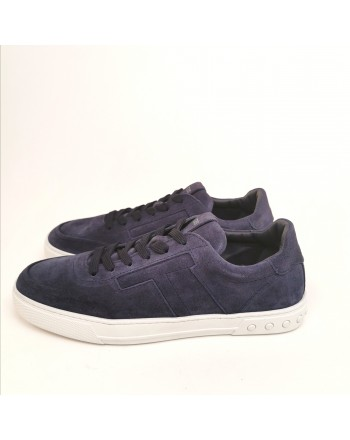 TOD'S - Suede T Sneakers - Galaxy