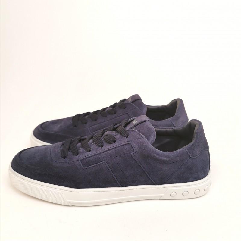 TOD'S - Sneakers in Pelle Scamosciata con T - Galassia