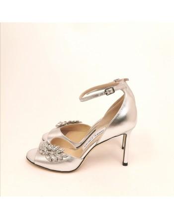 JIMMY CHOO - Sandalo gioiello - Silver