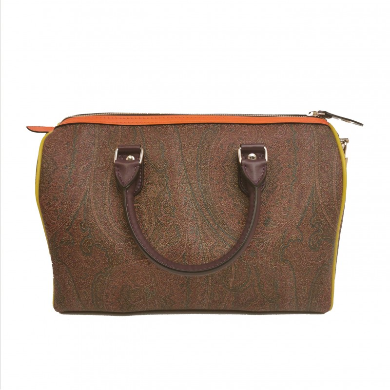 ETRO - Leather Duffel Bag - Paisley