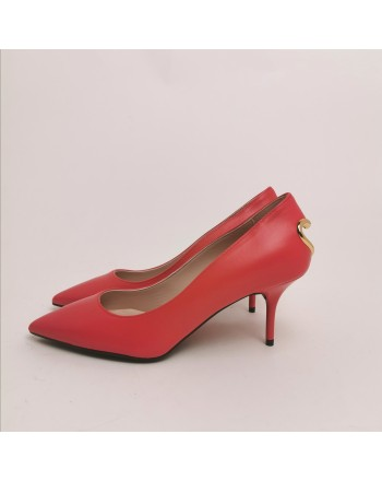 LOVE MOSCHINO - Pumps with heart - Red
