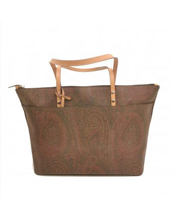 ETRO - Leather Shopping Bag