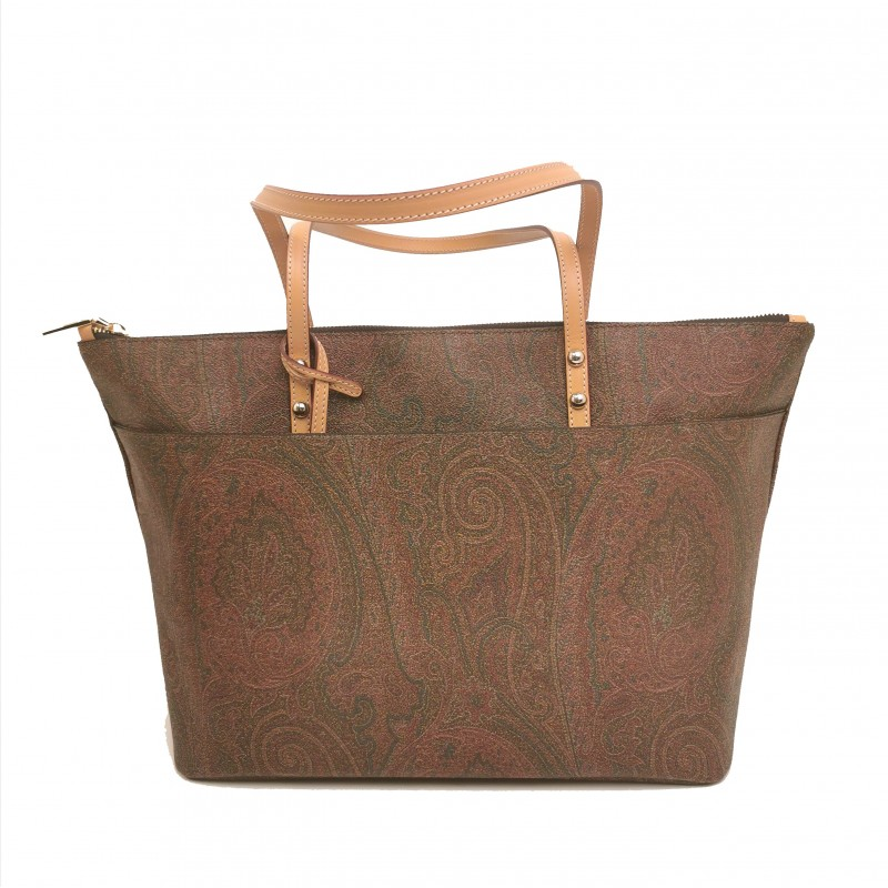 ETRO - Borsa Shopping in Pelle - Paisley
