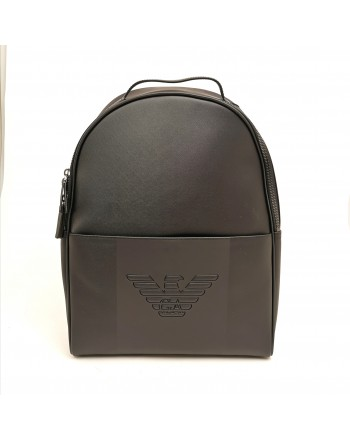 EMPORIO ARMANI - Soft Backpack - Black