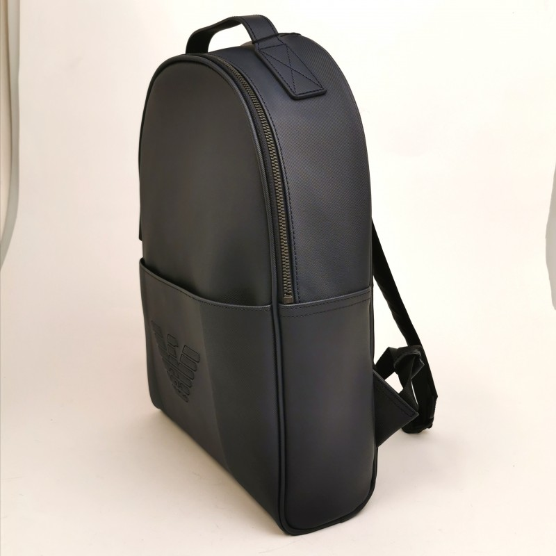 EMPORIO ARMANI - Soft Backpack - Navy