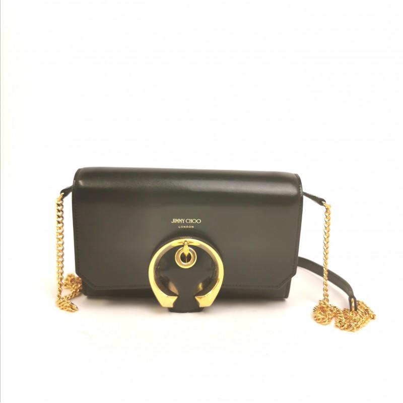JIMMY CHOO - Madeline Mini shoulder bag - Black