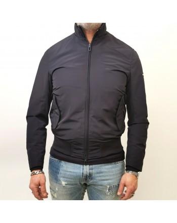 EMPORIO ARMANI - Tech Fabric Jacket - Navy