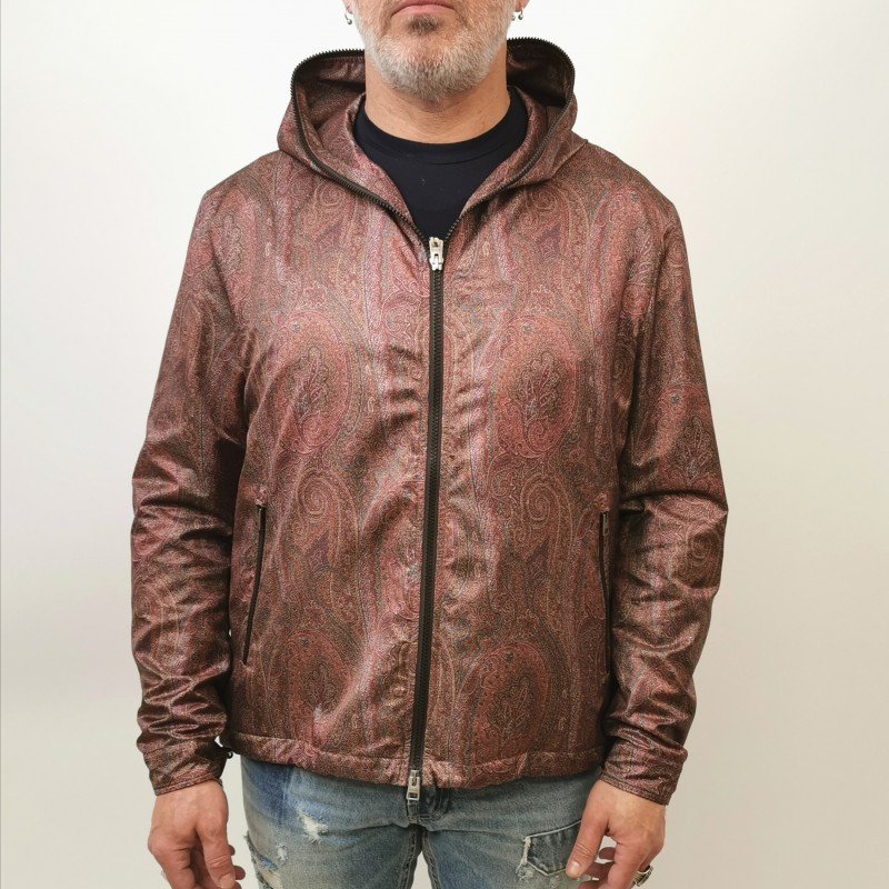 ETRO - Hood Jacket with PAISLEY Pattern - Paisley