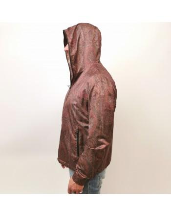 ETRO - Hood Jacket with PAISLEY Pattern - Paisley