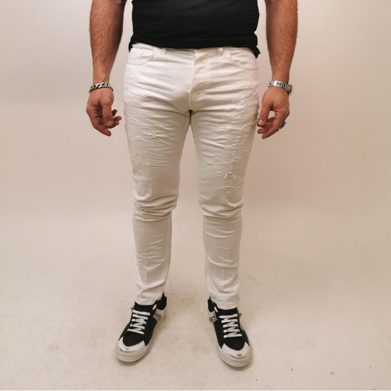 FRANKIE MORELLO - DAVINCI Skinny Jeans - White