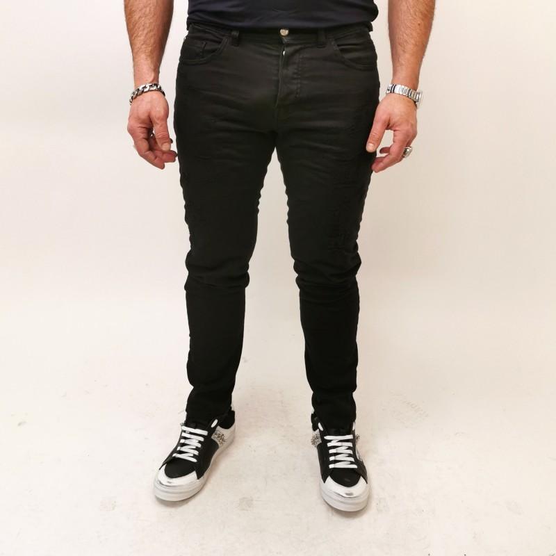 FRANKIE MORELLO - DAVINCI Skinny Jeans - Black