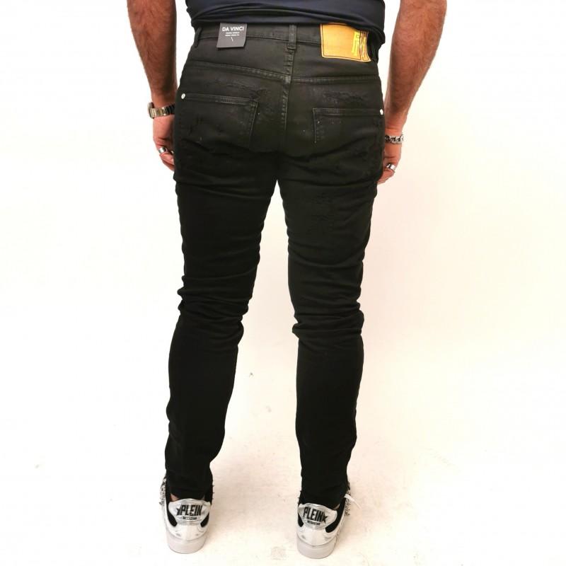FRANKIE MORELLO - Jeans DAVINCI Skinny - Nero