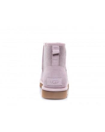 UGG - Classic Mini Logo SPARKLE Boot - Sparkle Pink