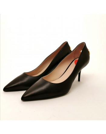 LOVE MOSCHINO - Pumps with heart - Black