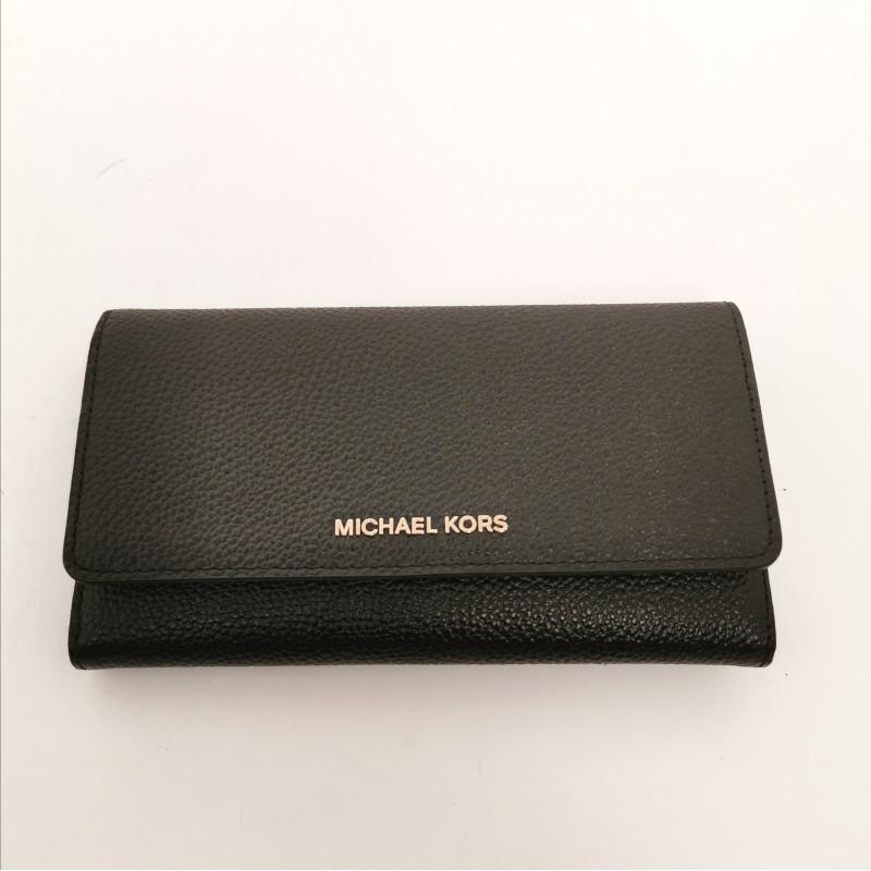 MICHAEL by MICHAEL KORS - Portafogli con doppio portacarte - Nero