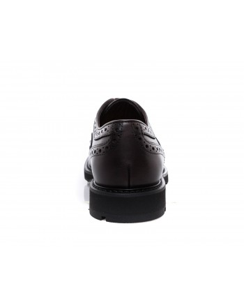 TOD'S - Leather Lace ups  - Cocoa