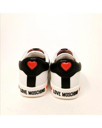 LOVE MOSCHINO - Sneakers con slip-on - Bianco/Nero