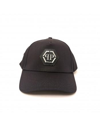 PHILIPP PLEIN - Logo Cap - Black