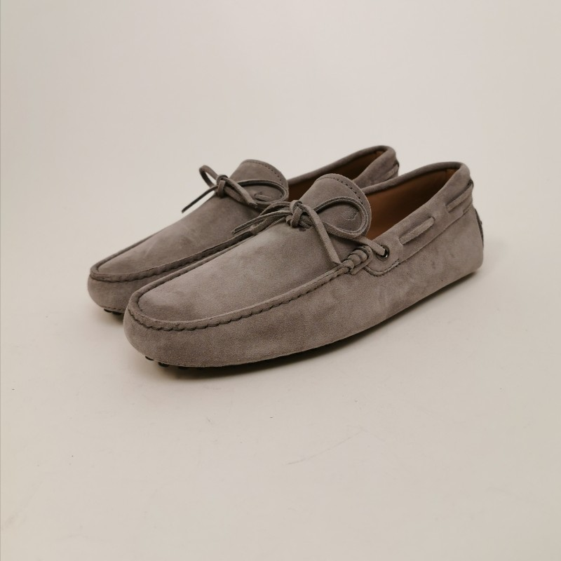 TOD'S - Suede New Laccetto Loafers