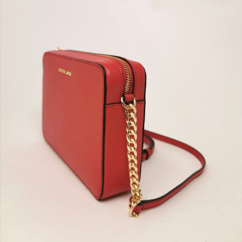 MICHAEL by MICHAEL KORS - Leather CROSSBODIES Bag - Bright Red