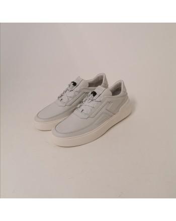 TOD'S - Sneakers CASSETTA  in Pelle - Luce