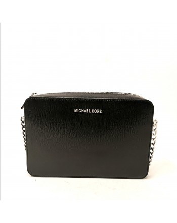 MICHAEL by MICHAEL KORS - Borsa Crossbody con catena - Nero