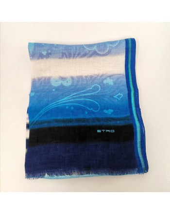 ETRO - SHAAL-NUR Scarf - Light Blue