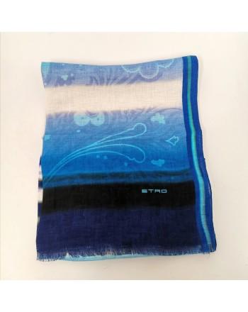 ETRO - Sciarpa SHAAL-NUR - Azzurro