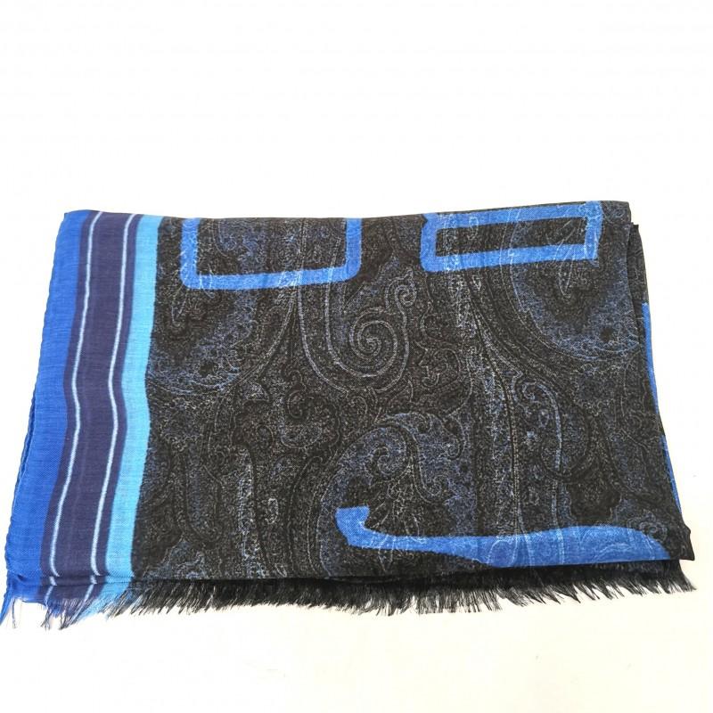 ETRO - Sciarpa DELHY - Azzurro