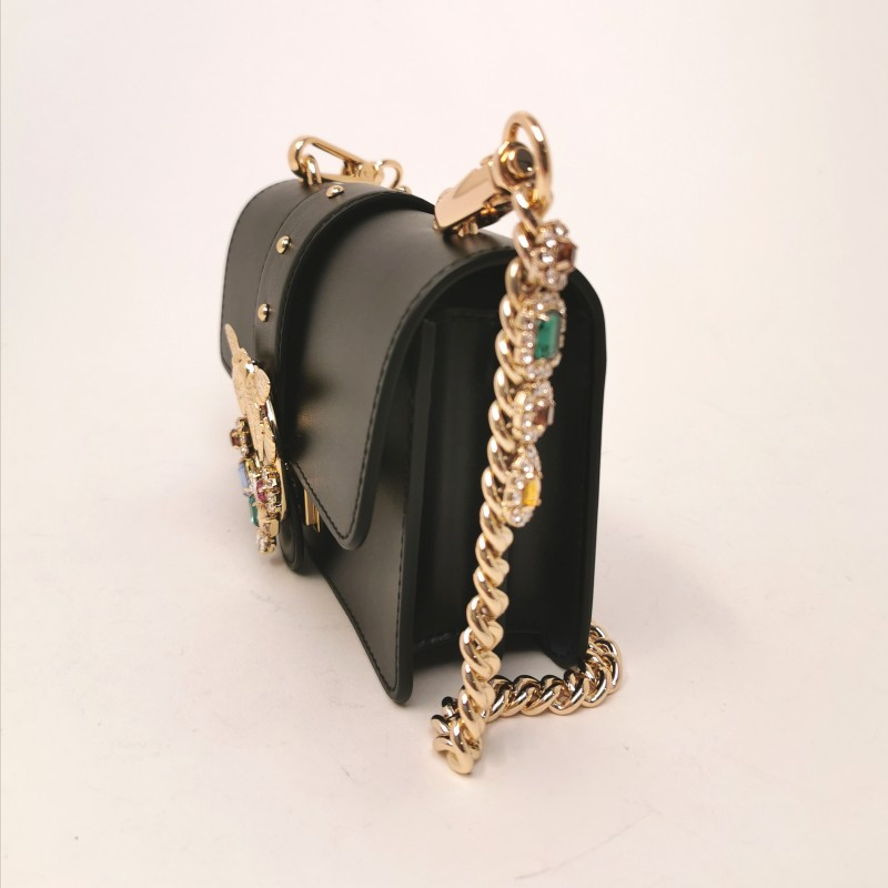 PINKO - Borsa LOVE MINI JEWELS - Nero