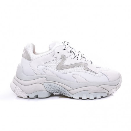 ASH Leather Sneakers ADDICT White