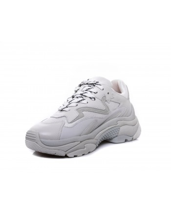 ASH - Sneakers ADDICT in Nappa- Bianco