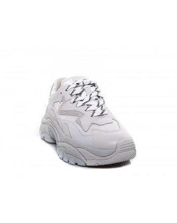 ASH - Sneakers ADDICT in Nappa- Bianco