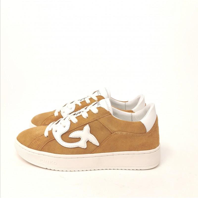PINKO - Sneakers LIQUIRIZIA - Cuoio