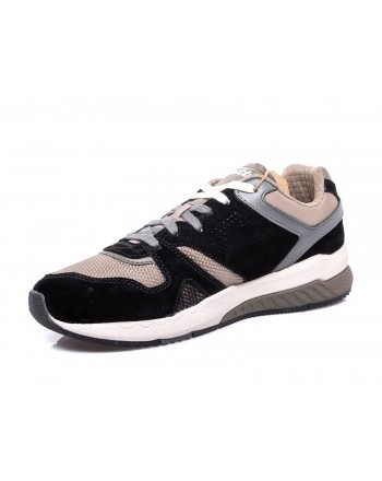 LOTTO LEGGENDA - Sneakers MARATHON- Nero/Oliva